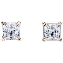 Pendientes Attract Swarovski 5509935 Mujer Cristal Blanco