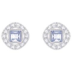 Pendientes Botón Swarovski 5352048 Mujer Angelic Square Cristal