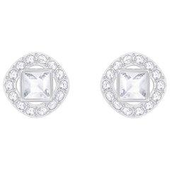 Pendientes Botón Swarovski 5368146 Mujer Angelic Square Cristal