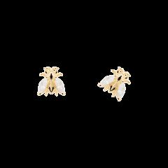Pendientes buzz AR01-311-U gold mujer