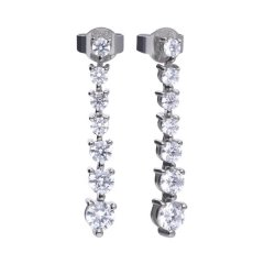 Pendientes DIAMONDFIRE 6215841082 mujer plata circonitas
