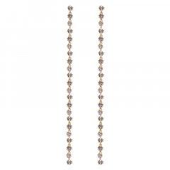 Pendientes ELECTRA P D PAOLA AR01-169-U Mujer plata en dorado circonitas.