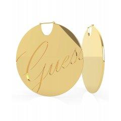 Pendientes GUESS LIQUID UBE79139 acero dorado