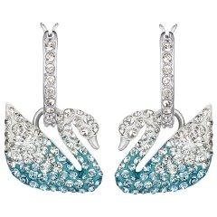 Pendientes Iconic Swan Swarovski 5512577 Mujer Cristal Multicolor