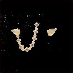 Pendientes JOANNE P D PAOLA AR01-245-U Mujer plata Baño oro