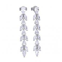 Pendientes Largos DIAMONFIRE 6220211082 mujer circonitas