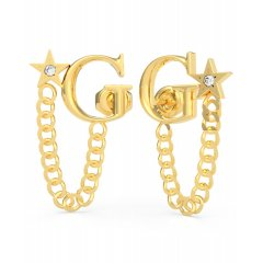 Pendientes logo GUESS UBE70157 mujer dorados