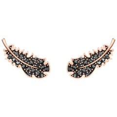 Pendientes Naughty Swarovski 5509722 Mujer Cristal Negro