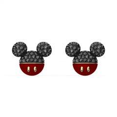 Pendientes Swarovski Mickey 5566691 negro baño tono oro