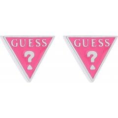 Pendientes triángulo Guess UBE70120 acero mujer