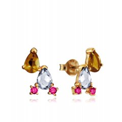 thumbnail Pendientes Viceroy Elegant 15109E000-36 baño oro