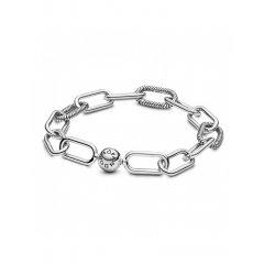 Pulsera de eslabones Pandora Me 598373-2 mujer plata