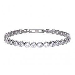 Pulsera DIAMONFIRE 6402021582 mujer plata circonitas