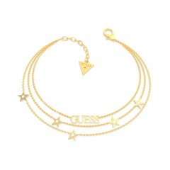 Pulsera GUESS UBB70078-S mujer acero dorado