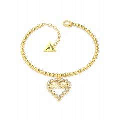 Pulsera GUESS UBB70087-S mujer acero dorado