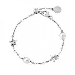 Pulsera Majorica 16007.01.0.000.010.1 mujer plata perla