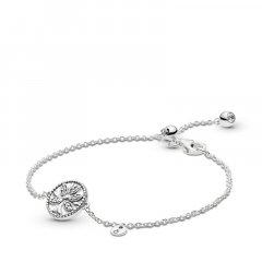Pulsera Pandora 597776CZ-20 mujer plata