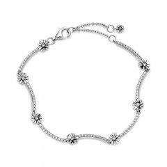 Pulsera Pandora 598807C01-16 mujer plata circonita