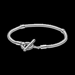 Pulsera Pandora Moments Cadena de Serpiente 599082C00-18 mujer