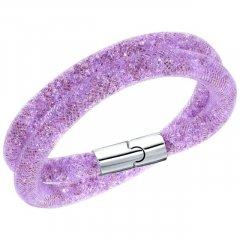 Pulsera Stardust SWAROVSKI 5120044 Mujer Nylon Púrpura