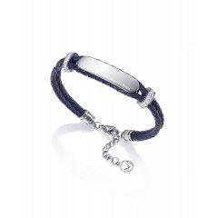 Pulsera Viceroy 75033P01013 mujer Piel azul circonita Gracias Profe