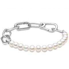 Pulsera Pandora Me 599694C01-3 perlas y eslabones