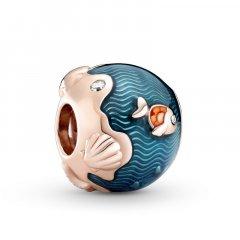 Charm Pandora Olas & pez reluciente 789004C01