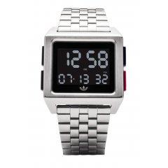Reloj adidas Archive_M1 Silver / Black / Blue / Red Z012924-00 unisex