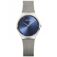 thumbnail Reloj BERING Malla azul acero 11429-387 mujer plateado