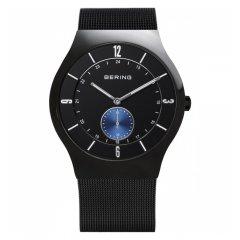 Reloj Bering Classic Collection 11940-228 Hombre Acero Negro Cuarzo