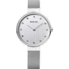 Reloj Bering Classic Collection 12034-000 Mujer Acero Plateado Cuarzo