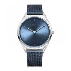 Reloj BERING Malla azul acero 17039-307 hombre