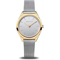 Reloj Bering ultraslim 17031-010 mujer dorado