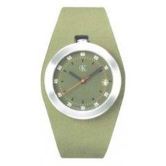 Reloj Calvin Klein K16111.63 Unisex Verde Cuarzo Analógico