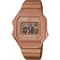 Reloj Casio B650WC-5AEF Mujer Rosado Acero Cronómetro