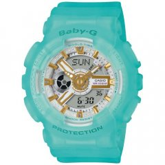 Reloj Casio Baby-G BA-110SC-2AER Mujer Azul Silicona