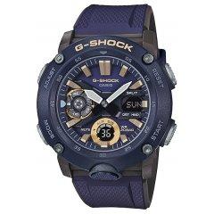 Reloj Casio G-Shock GA-2000-2AER hombre azul y dorado