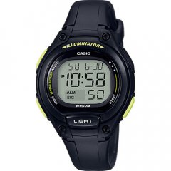 Reloj Casio LW-203-1BVEF Niño Negro Silicona Cuarzo