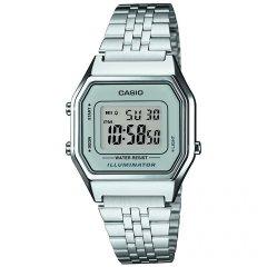 thumbnail Reloj Casio Retro LA680WEA-1EF Cuarzo Mujer Negro Alarma