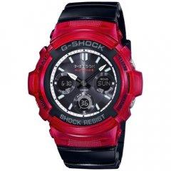 Reloj Casio G-Shock AWG-M100SRB-4AER Hombre Silicona Cronómetro