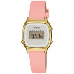 Reloj Casio Vintage LA670WEFL-4A2EF mujer cuero rosa
