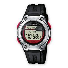Reloj Casio W-211-1BVES Niño Rojo Silicona Cuarzo