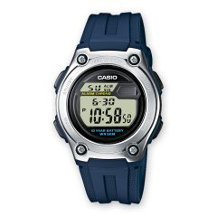 Reloj Casio W-211-2AVES Niño Negro Silicona Cuarzo