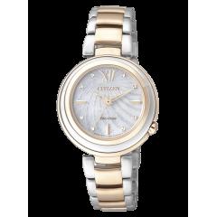 Reloj Citizen acero EM0335-51D Lady 0331 zafiro
