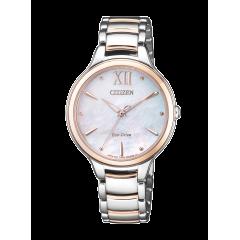 Reloj Citizen acero EM0556-87D Lady 0530 zafiro