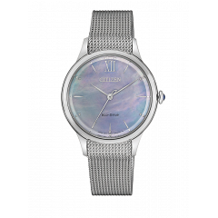 Reloj Citizen acero EM0810-84N Lady 078 zafiro