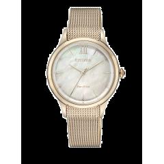 Reloj Citizen acero EM0813-86Y Lady 078 oro rosa