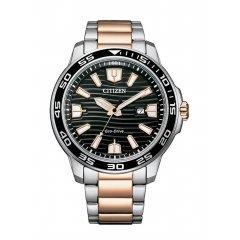 Reloj Citizen Of Collection AW1524-84E CABALLERO 3 AGUJAS Eco-Drive
