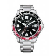 Reloj Citizen Of Collection AW1527-86E CABALLERO 3 AGUJAS Eco-Drive