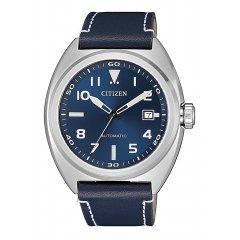 Reloj Citizen Off collection NJ0100-20L piel azul
